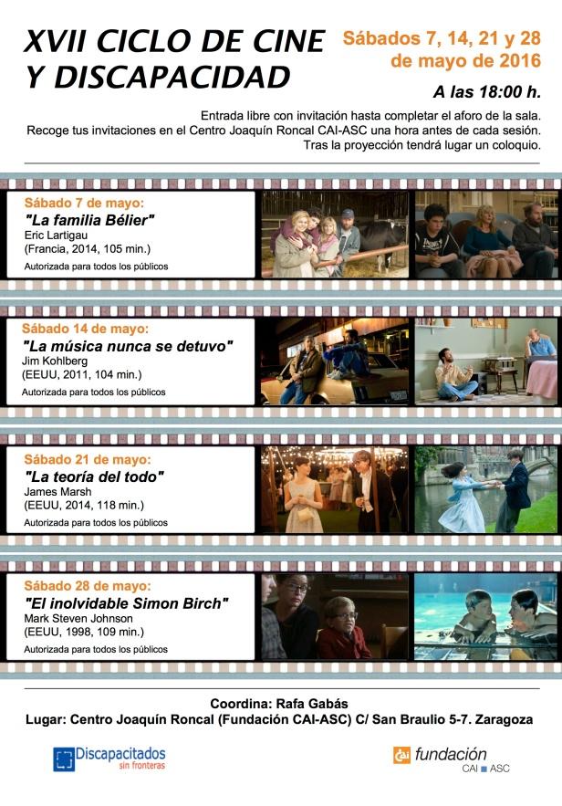 Cine y discapacidad 2016